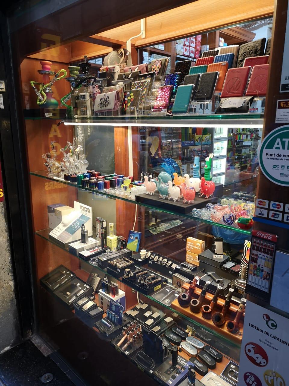 Табак из Барселоны